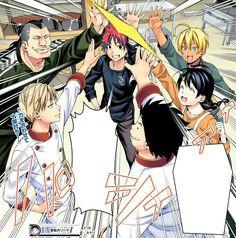 Shokugeki No Soma Yukihira Soma, Shokugeki No Soma Anime, Manga Pages, Cartoon Tv, Manhwa, Fangirl, Anime Art, Animation, Fans