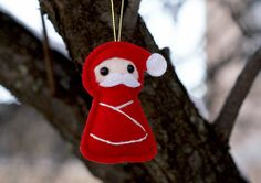 Felt Mini Santa Decoration