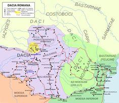 Roman Dacia, between 106 and 271 AD. - Roman province of Dacia, part of modern…