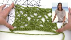 How to crochet the flower pattern in DROPS on Vimeo Lace Patterns, Knitting Patterns Free, Free Knitting, Flower Patterns, Free Pattern, Crochet Patterns, Mode Crochet, Crochet Wool, Crochet Blouse