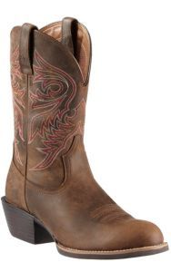 Ariat® Men's Distressed Brown Brumby Sport Round Toe Western Boots   Cavender's