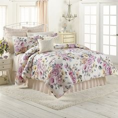 Rose Garden Comforter from LC Lauren Conrad bedding collection!