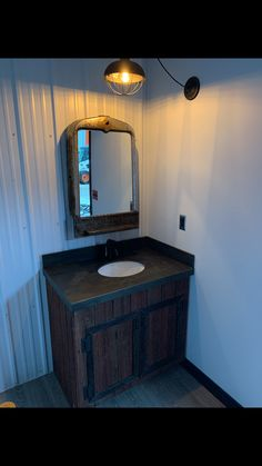 Barn Board Projects, Vanity, Mirror, Bathroom, Frame, Home Decor, Dressing Tables, Washroom, Picture Frame