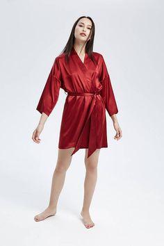 7eed256539 23 Best Silk Kimono Robe images
