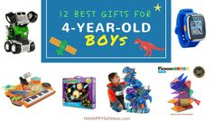 Looking for best gifts for a 4-year-old boy? We have got a great selection of fun gifts for 4-year-old boys that will keep them learning while playing.