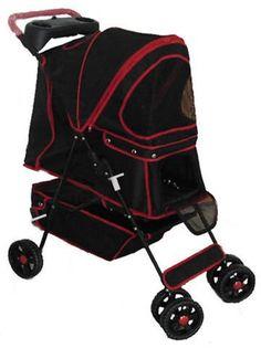 New PET Travel STROLLER Black Color - http://www.thepuppy.org/new-pet-travel-stroller-black-color-2/