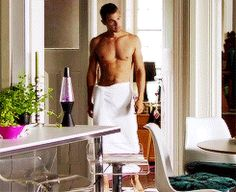 Shirtless Theo James