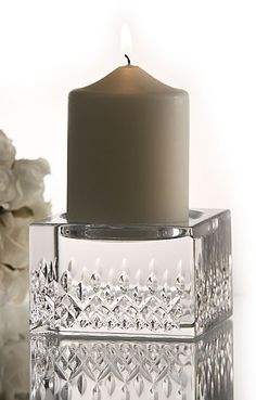 Waterford Lismore Essence Pillar Candlestick