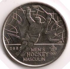 The complete database listed source of Canadian circulation currency coins for the past, present and future. Mint Coins, Silver Coins, Old Coins Worth Money, Canadian Coins, Coin Worth, Dollar Coin, Money Matters, Coin Collecting, Ice Hockey