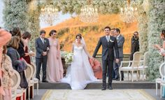Home wedding: Maria Thereza e Luiz Flavio