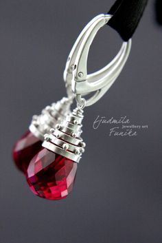 Filigree Wire Briolette Cap Earrings   JewelryLessons.com