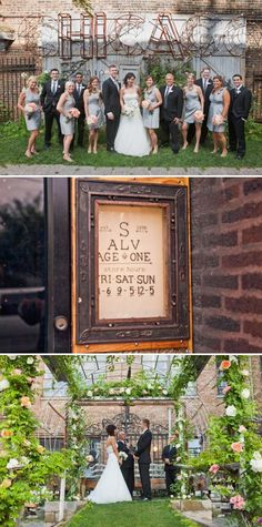 Salvage One Wedding by Angela Renee Photography (Chicago)