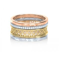 Birks Muse™ Double Stacked Diamond Ring