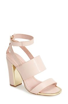 Topshop+'Riot'+Lizard+Embossed+Ankle+Strap+Sandals+(Women)+available+at+#Nordstrom