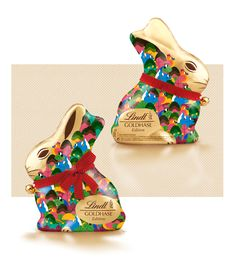 LINDT GOLDHASE EDITION on Behance Behance, Packaging, Sweet, Illustrations, Wrapping