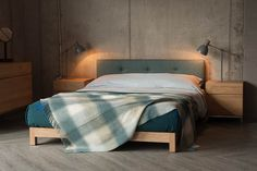 Low Bed Frame, Solid Wood Bed Frame, Bed Frames, Low Floor Bed, Modern Wooden Bed, Simple Wooden Bed Design, Japanese Style Bed, Loft Style Bedroom, Yurts
