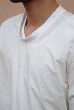 NO CONTROL AIR プルオーバーロングシャツ