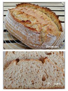 Kovászos kenyér éjjeli hűtős kelesztéssel | Betty hobbi konyhája
