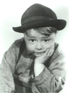 """SPANKY McFARLAND,   born 1928           """"You can fool some of the people some of the time, but you can't fool mom!"""" - Spanky in """"Anniversary Trouble"""" (1935)"""