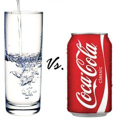 8 Reasons To Drink Water Instead of Coca-Cola