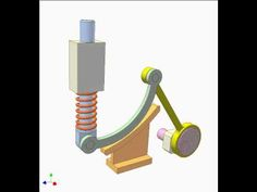 Gear and linkage mechanism 4 - YouTube