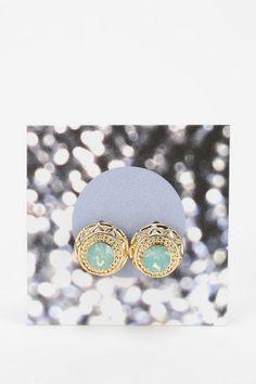 Sculpted Gemstone Gift Card Earring