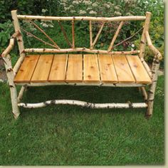 unique garden benches - Google Search