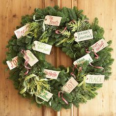 winter...Wreaths