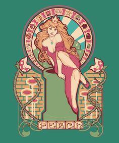 Princess Peach by Megan Lara