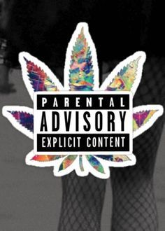Parental Advisory Trippy Wallpaper