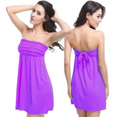 Wholesale Women Beach Dress Cover-Ups Ties at Back Wire Free No Pad Ladies' Beach Dress Cover-Ups Vintage Swimwear Cover-Ups