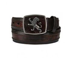 Kids Boys Brown Western Dress Cowboy Belt Braided Removable Buckle Vaquero Cinto