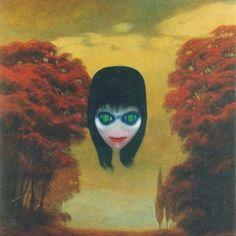 The top 10 creepy art works, including paintings, sculptures, drawings and ceramics. Zdzislaw Beksinski Zdzislaw Beksinski was a Polish painter and Arte Horror, Horror Art, Creepy Art, Scary, Post Apocalyptic Art, Realism Art, Surreal Art, Skull Art, Dark Art