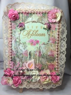Tsunami Rose Designs: Challenge 13 ~ Altered Journals