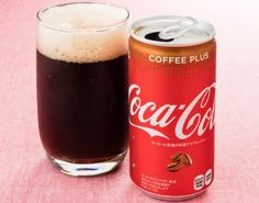 If you love coffee, coke or any kind of caffeinated beverage, then you're next trip should be to Japan. Coca-Cola has just released Coca-Cola Coffee Plus, a drink with 50 percent more caffeine and 50 percent fewer calories. Coffee Creamer, Coffee Latte, Coffee Shop, Coke, Coffee Vending Machines, Trends, Calories, Marketing, Coffee Drinks