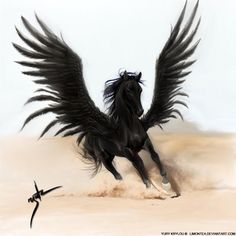 Pegasus by *LimonTea on deviantART