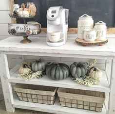 Fall Coffee bar/station