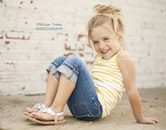 child photography | rustic, urban setting | Melissa Treen Photography | greensboro-children-photographers