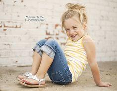 child photography | rustic, urban setting | Melissa Treen Photography | greensboro-children-photographers