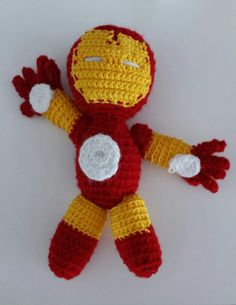 crochet iron man - häkel iron man