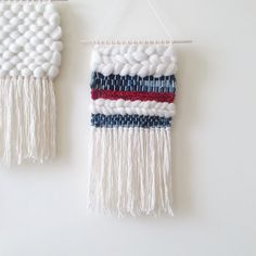 Denim Weaving | Woven Wall Hanging