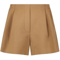 Maje Tailored Shorts (9.815 RUB) ❤ liked on Polyvore featuring shorts, elastic waistband shorts, maje, elastic waist shorts, stretch waist shorts and tailored shorts