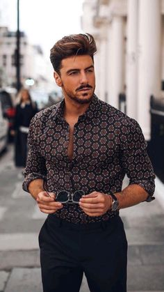 Nice Outfits For Men, Mens Casual Dress Outfits, Summer Outfits Men, Stylish Mens Outfits, Men Dress, Boot Outfits, Casual Wedding Outfits For Men, Man Wedding Guest Outfit, Men Party Outfit