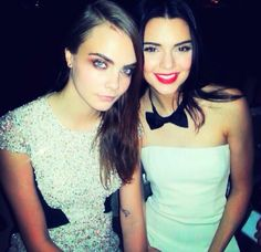 | Cara Delevingne And Kendall Jenner |