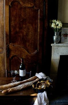 Bread, Olives & Wine