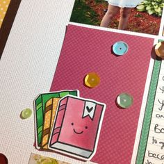 Hello School using @lawnfawn Sweater Weather collection for Scrapbooks By Design