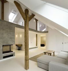Rounded Loft by A1Architects
