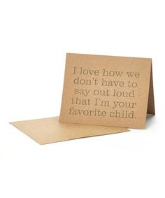 This 'I Love How' Mother's Day Card is perfect! #zulilyfinds