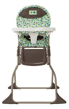 Cosco Simple Fold High Chair, Elephant Squares Invite fun to meal times with the Cosco Simple Fold High Chair. Easy to stow and take on the go, this high chair Best Baby High Chair, Best High Chairs, Portable High Chairs, Wooden High Chairs, Metal Chairs, Toddler Chair, Chairs For Small Spaces, Cool Chairs, Side Chairs