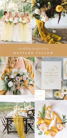 Mustard Yellow Wedding, Yellow Wedding Colors, Spring Wedding Colors, Light Yellow Weddings, Emerald Green Weddings, Pink Weddings, Wedding Color Pallet, Wedding Color Schemes, Wedding Decorations